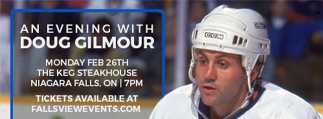 Embassy Suites by Hilton Niagara Falls - Fallsview Hotel, Canada - An Evening with Doug Gilmour
