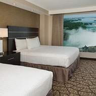 Embassy Suites by Hilton Niagara Falls Fallsview - 2 Queen Beds - Canadian Fallsview Suite - 10th - 15th Floor