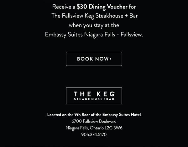 Embassy Suites Niagara Falls - Fallsview Hotel